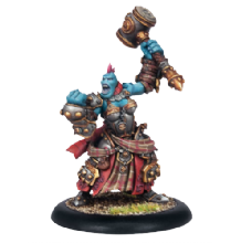 Trollblood Epic Warlock Marshal of Kriels Grissel Bloodsong